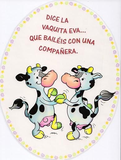 Jugar a imitar a los animales vaca