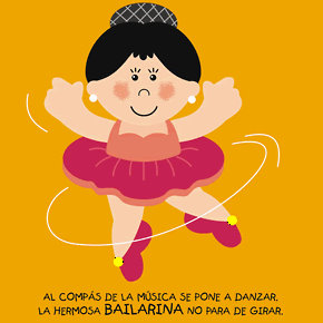 Poesías infantiles de profesiones y oficios bailarina