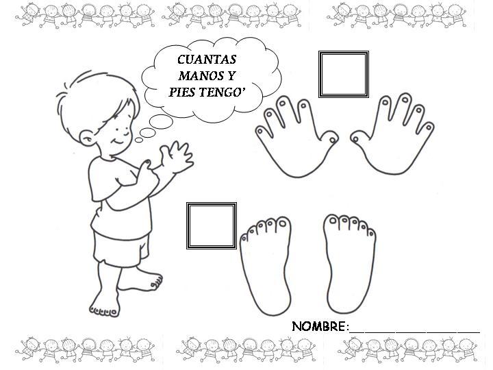 El cuerpo humano de niñas de preescolar para colorear - Imagui