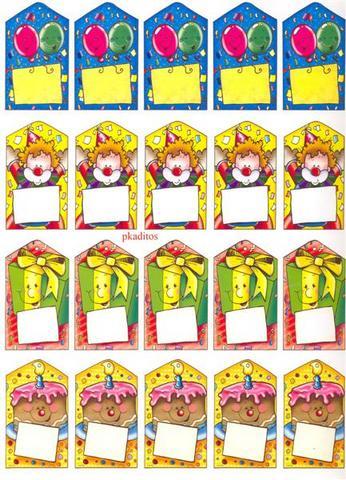 Afiches y tarjetas de cumpleaños