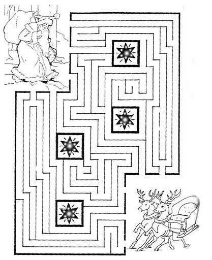Fichas de laberintos