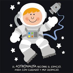 Poesías infantiles de profesiones y oficios astronauta
