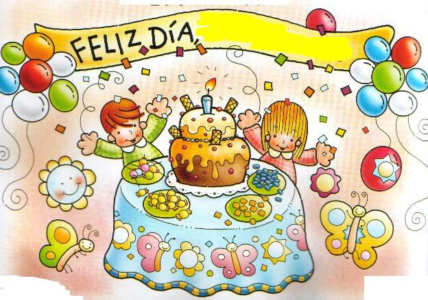Afiches y tarjetas de cumpleaños para niños