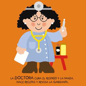 Poesías infantiles de profesiones y oficios doctor medico