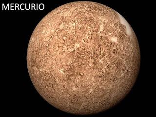 Fotos reales de los planetas y del universo Mercurio