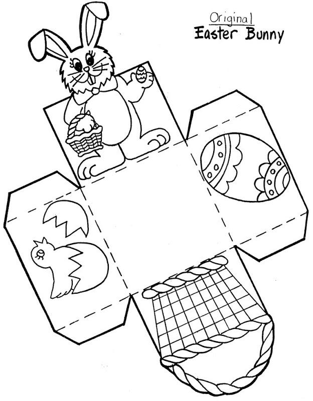 Manualidades y recortables de la Pascua