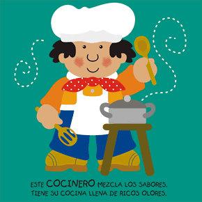 Poesías infantiles de profesiones y oficios cocinero