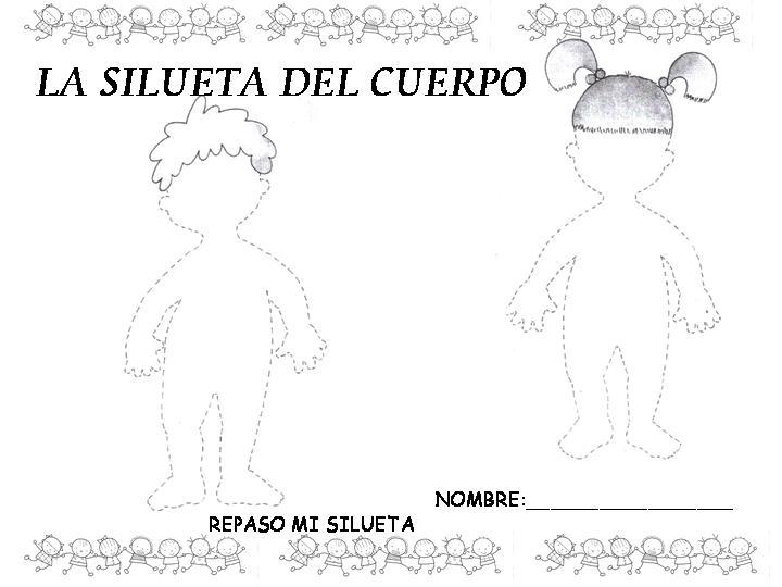 El cuerpo humano en preescolar