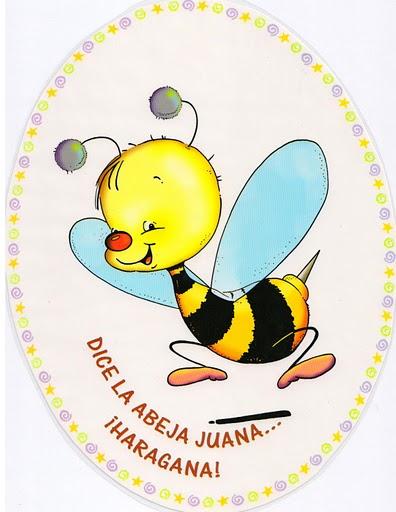 Jugar a imitar a los animales abeja