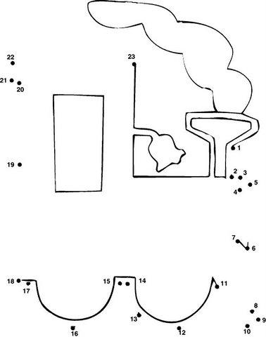 Dibujos de unir los puntos