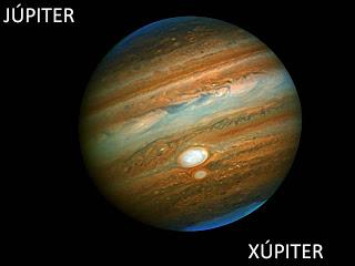 Fotos reales de los planetas y del universo Júpiter