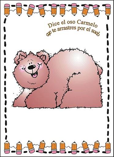 Jugar a imitar a los animales oso