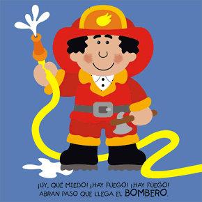 Poesías infantiles de profesiones y oficios bombero