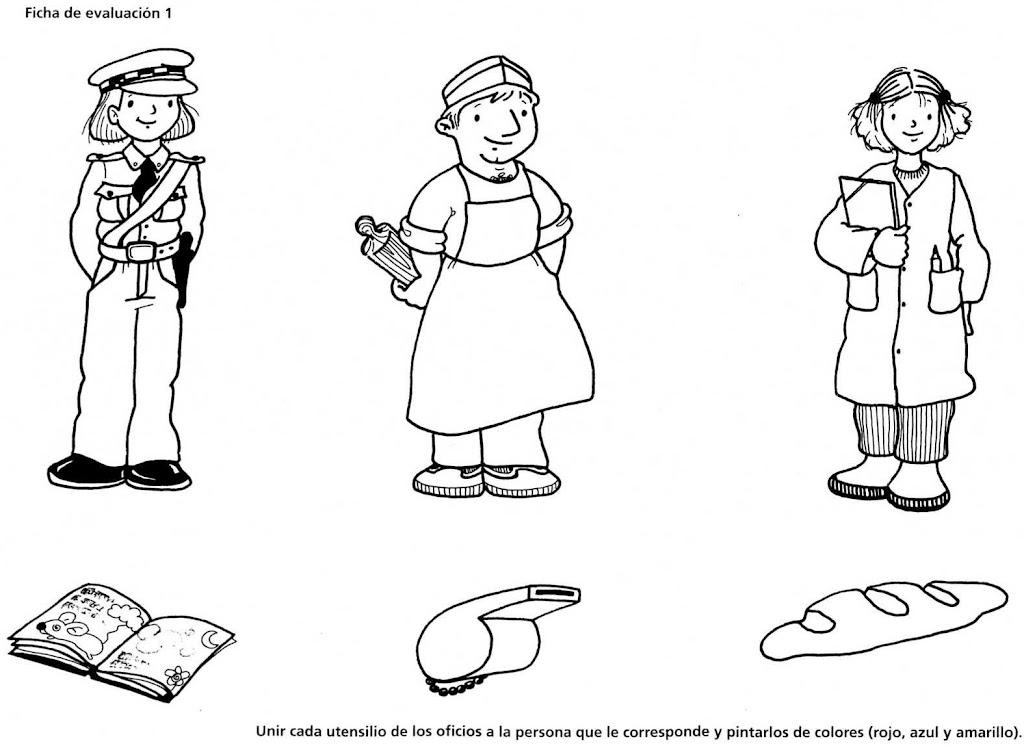 oficios y profesiones para ninos