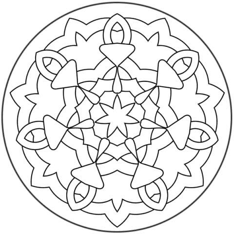 Mandalas para niños de preescolar para imprimir - Imagui
