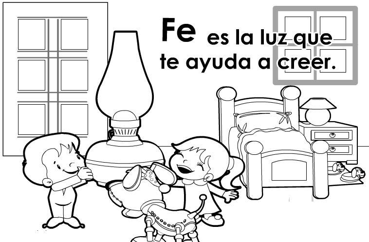 Imagenes para colorear sobre los valores para niños - Imagui