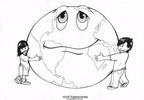 DIA Mundial Del Medio Ambiente Para Colorear