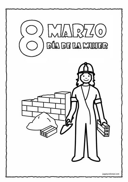 91f20cbbb62b050ce94239f3b0b843fd Día Internacional de la Mujer trabajadora para niños