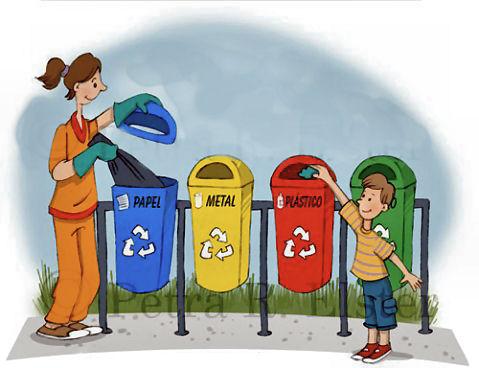 Aprender a reciclar los residuos para niños
