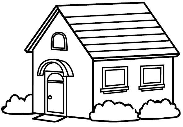 Dibujos de diferentes tipos de viviendas para colorear - Imagui
