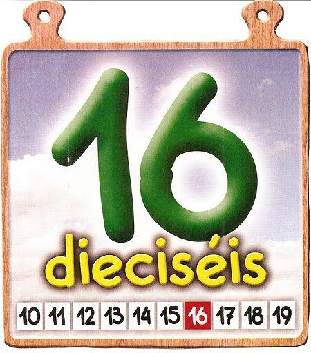 16 Los números del 11 al 20