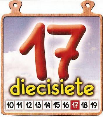 17 Los números del 11 al 20