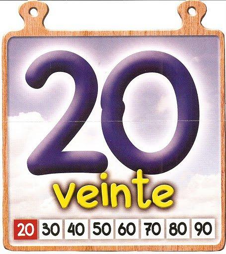 20 Los números del 11 al 20