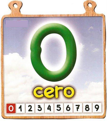 cero Los números del 0 al 10