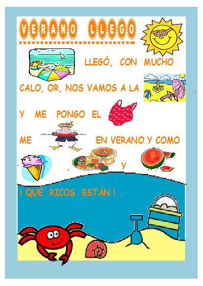 Poemas y rimas infantiles