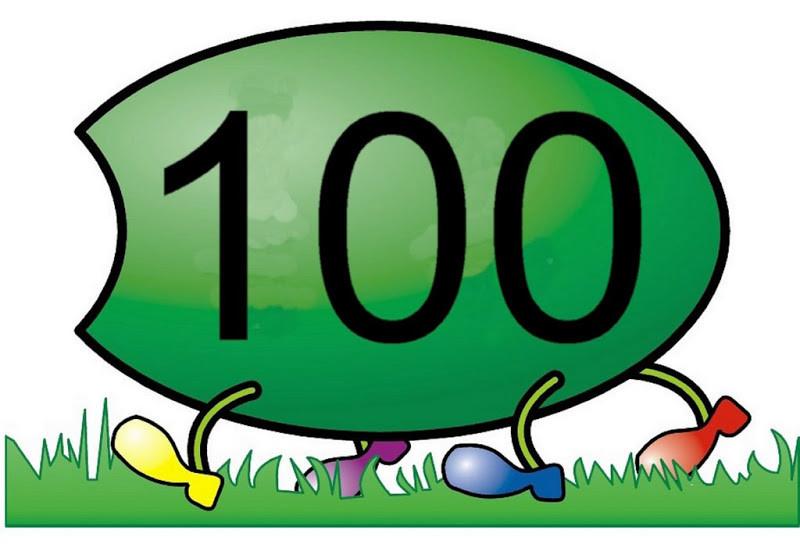 Fichas para imprimir de los números del 0 al 100 para niños