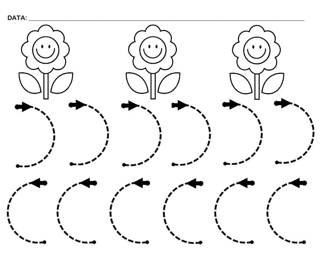 Actividades de punzar o puntear flor