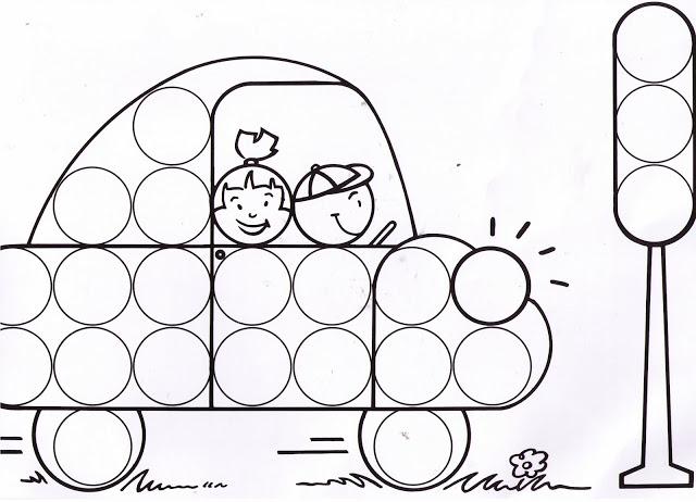 Dibujos y plantillas para gomets coche