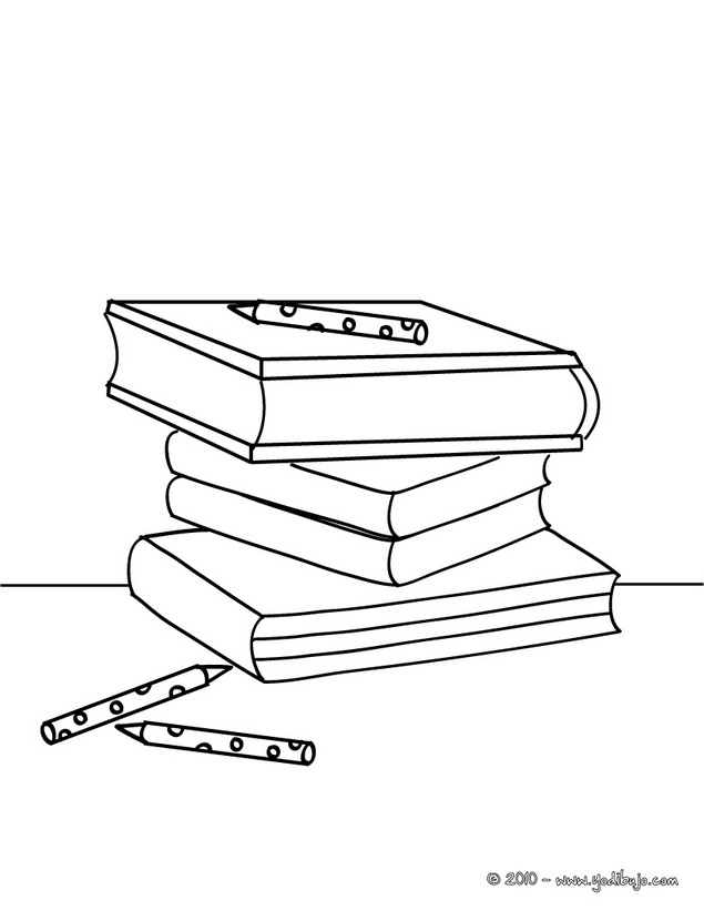Dibujos para colorear del 23 de abril día del libro para niños