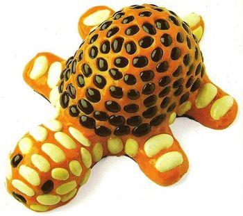 Manualidades con plastilina tortuga