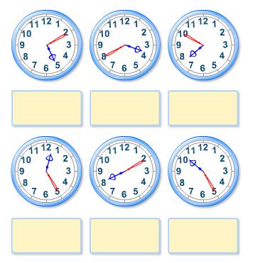 Problemas de relojes juego online