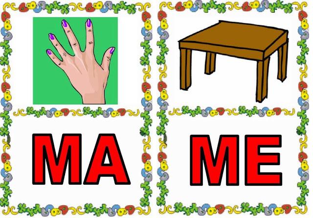 Imagenes de objetos que empiecen con ma me mi momu - Imagui