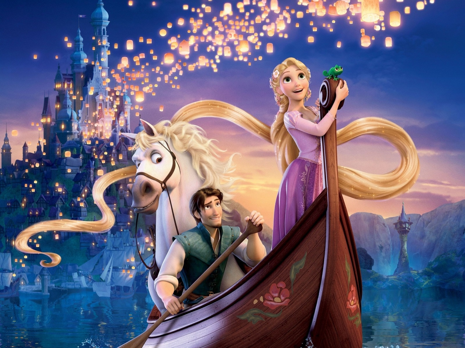 Princesa Rapunzel de Disney
