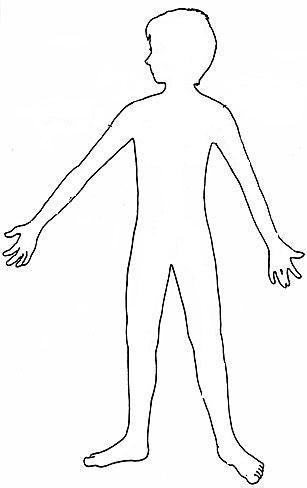 Silueta del cuerpo humano
