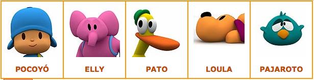 Juego de Pocoyó online para niños